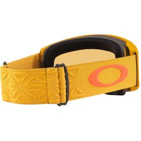 Oakley Line Miner XL Lunettes de ski Homme, prizm icon mustard yellow oran/prizm persimmon